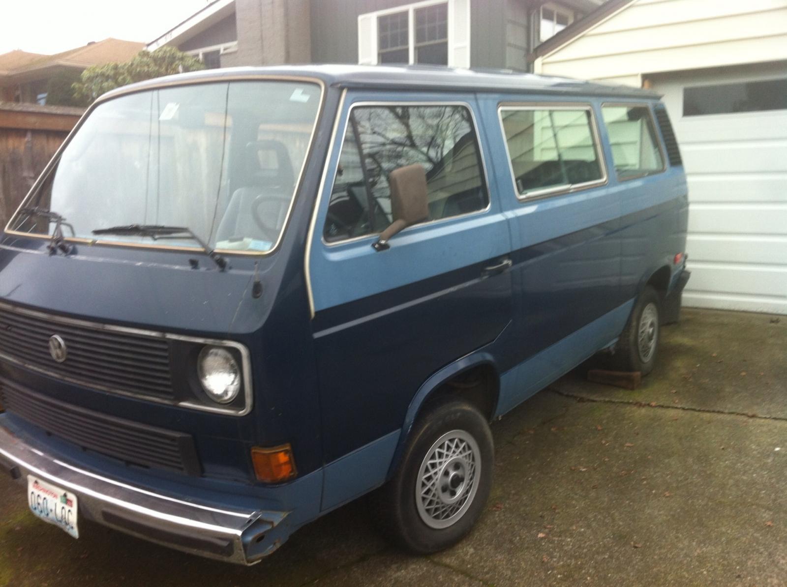 The parts van.