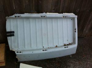 Damaged Luggage Tray