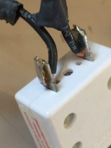 Soldered joints