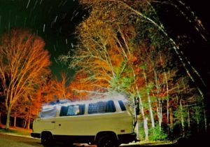 Dispersed camping in Maine's public land. photo:Tim Whynot