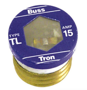 Screw in base time delay fuse for the jump seat camper shoreline power switch box.